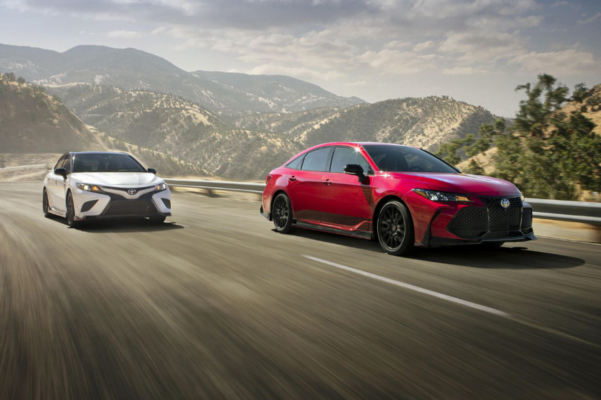 2020 Camry TRD & Avalon TRD - Luxury Care